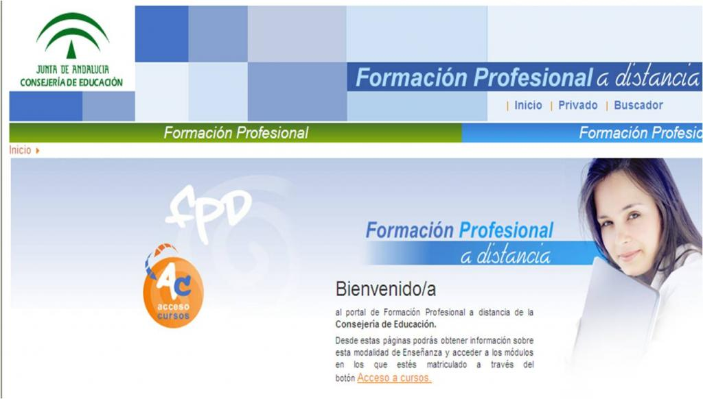 Oferta De Formación Profesional Semipresencial Y A Distancia